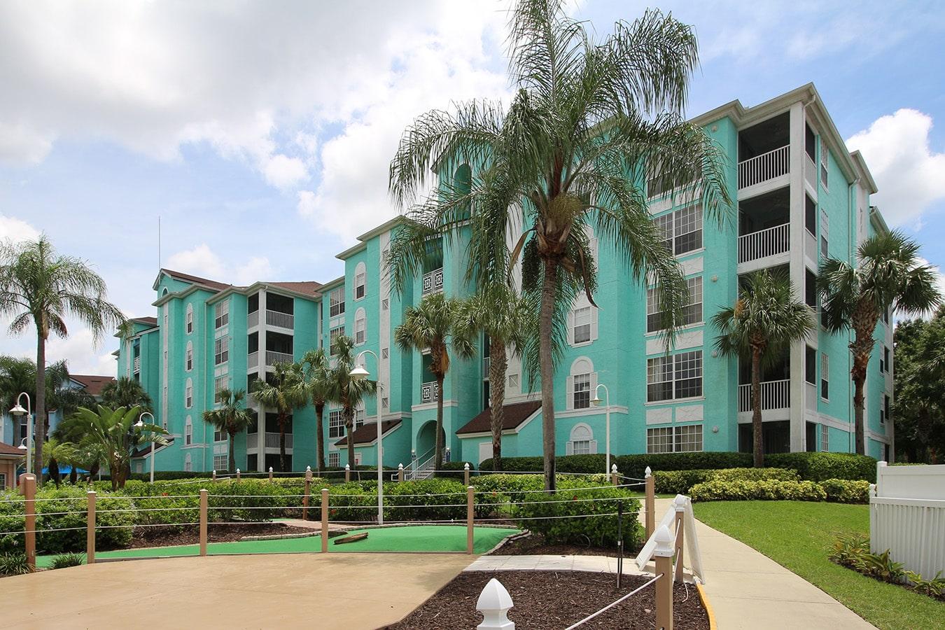 Grand Villas Resort Building Green