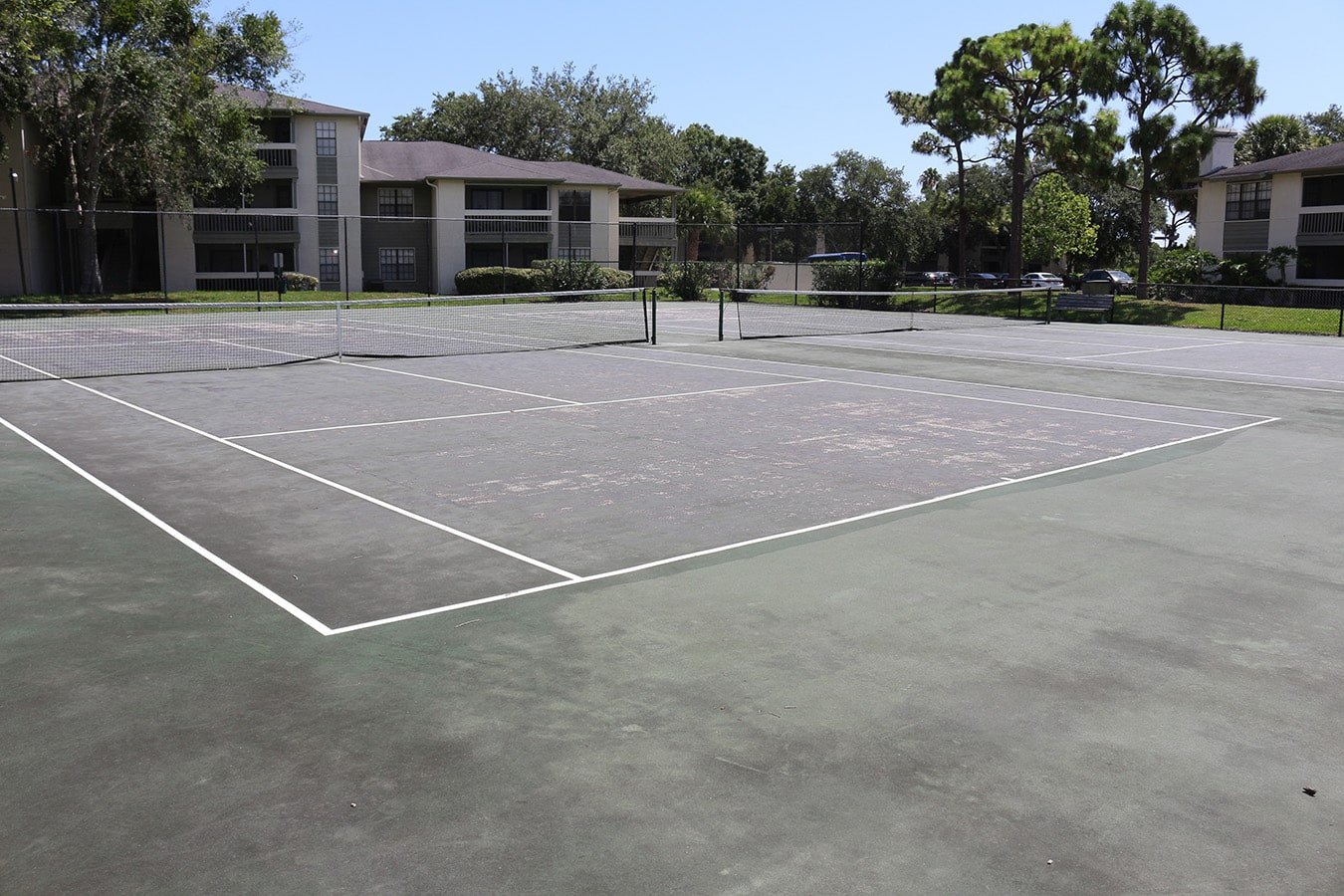 Plantation at Suntree DBK Tennis Courts Before