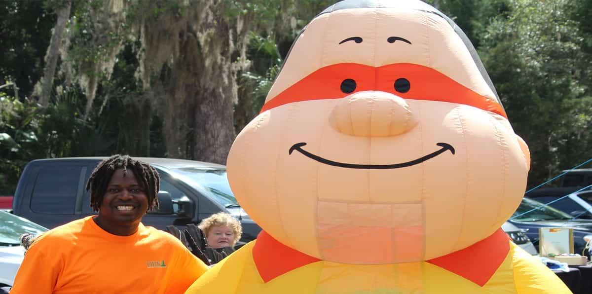 DBK Construction Bert Mascot Kenny
