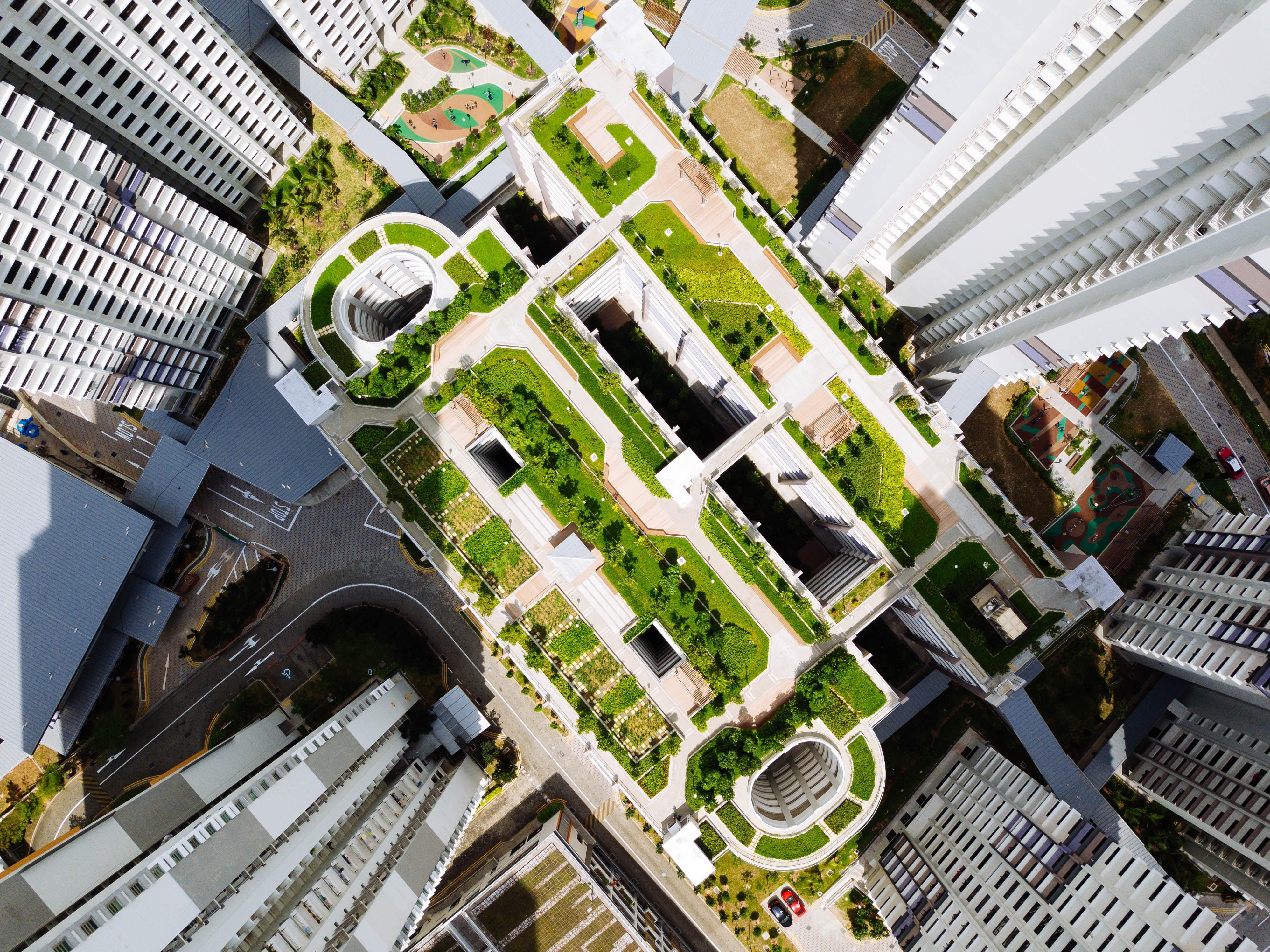 green multifamily residential