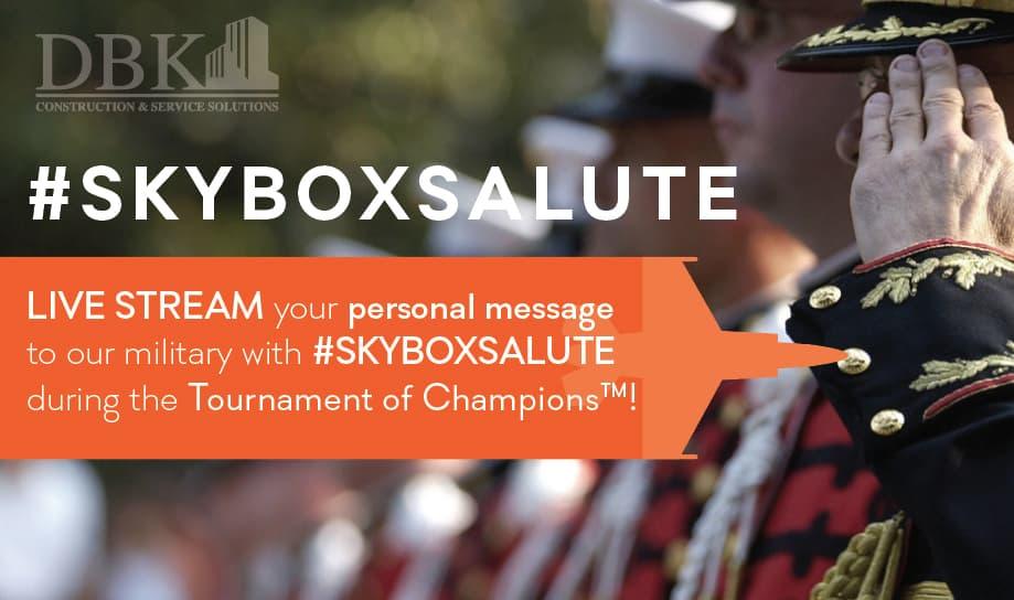 Skybox Salute
